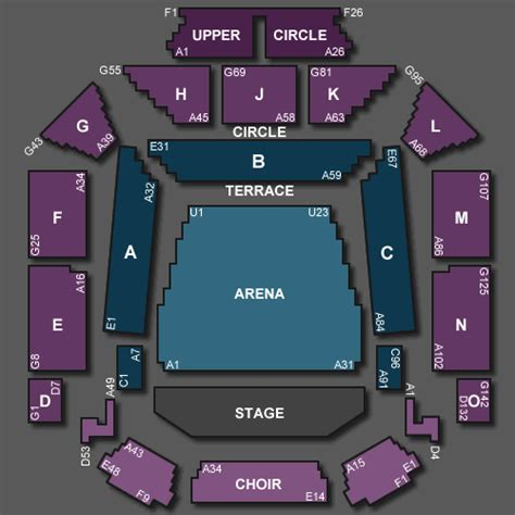 Bic Floor Plan Status Quo Aquostic Live 2015 Tickets For Glasgow Royal