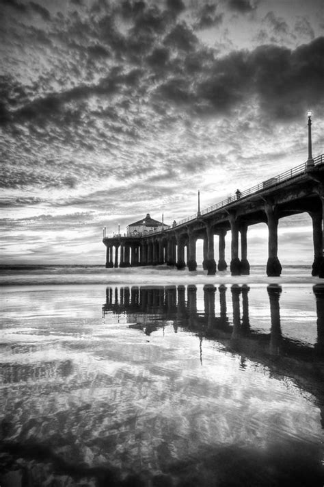 beautiful black  white landscape photography