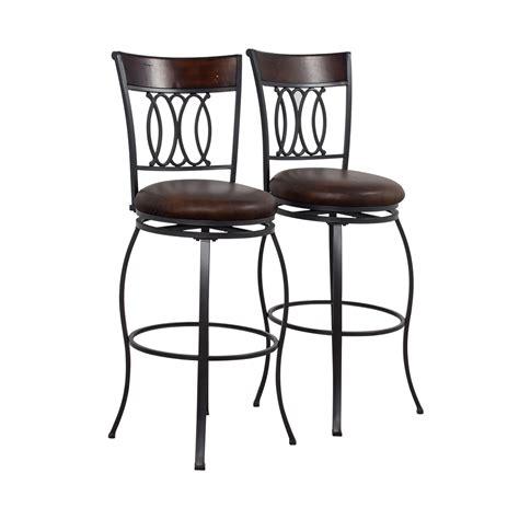 Furniture Swivel Bar Stools by 80 Bob S Furniture Bob S Furniture Brown Swivel Bar