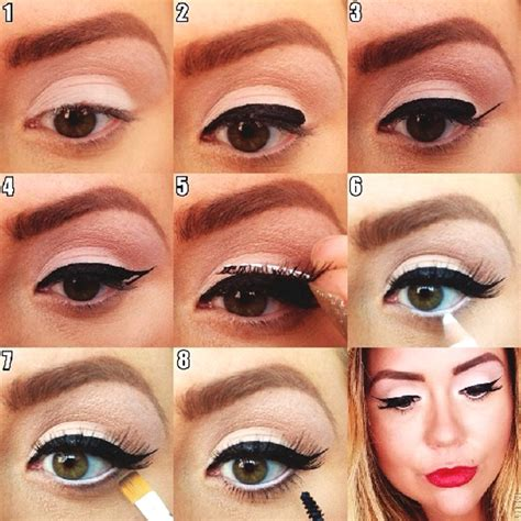 tutorial eyeliner puppy eye how to do perfect cat eye makeup