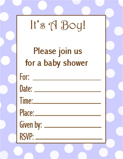Boy baby shower invitation wording template best template collection