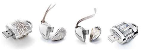 Philips Shaped Swarovski Usb by Active Crystals Luxury Usb Drives By Philips Swarovski