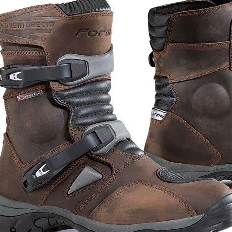 low motocross boots forma adventure low boots brown dirtbikexpress