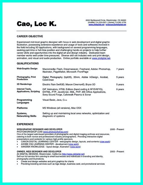 Resume Computer Science by The Best Computer Science Resume Sle Collection