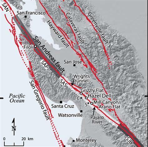 san francisco fault map san francisco s 1906 quake was third of a series on san