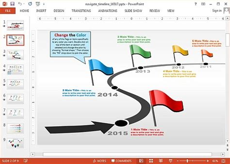 Animated Timeline Powerpoint Template Animated Timeline Maker Templates For Powerpoint