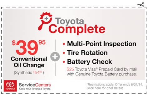 Change Coupons Toyota Toyota Service Coupons Release Date Price And Specs