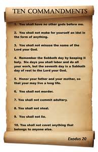 search results for catholic ten commandments printable