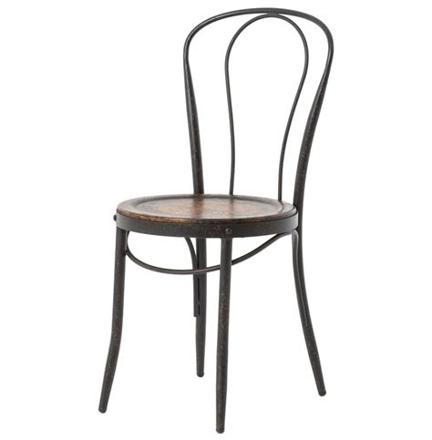Cafe Bistro Chairs Fouquet Parisian Bistro Bent Iron Cafe Chair Kathy Kuo Home