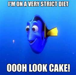 Dieting Memes - really funny memes forgetful dory ruin my week