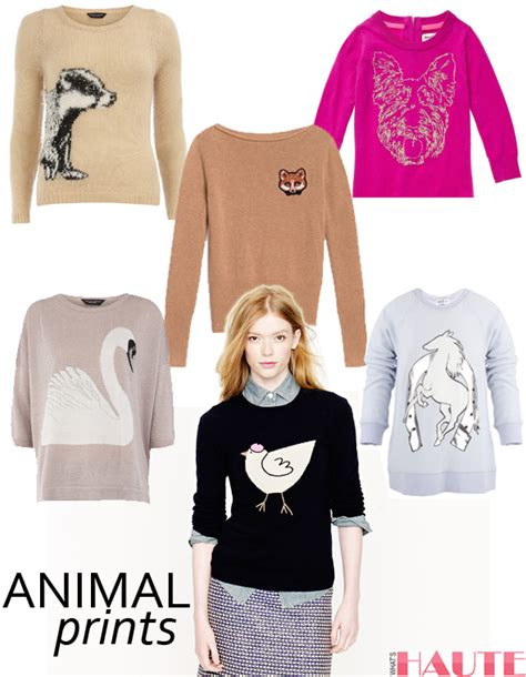 Animal Pullover animal attraction 15 chic animal sweaters you ll want to