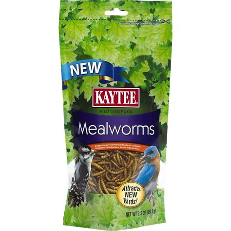 kaytee kaytee mealworms bird food wildbird foods