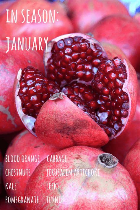 fruit in season january in season now january growing family