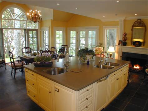 kitchen and great room designs new homes will be smaller greener and more casual by 2015