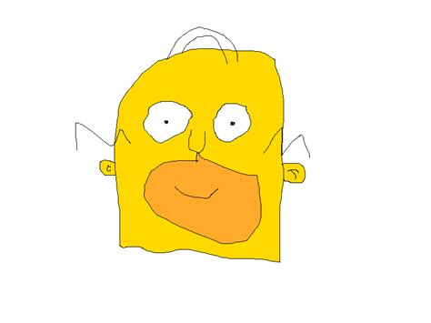 Kaos The Simpsons The Simpsons 01 terrible drawings