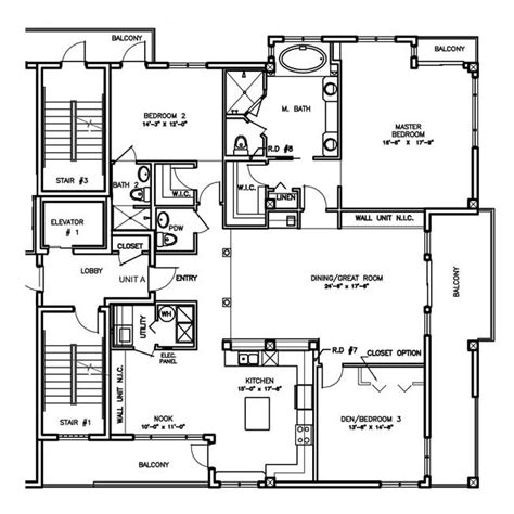 2 floor building plan floorplans
