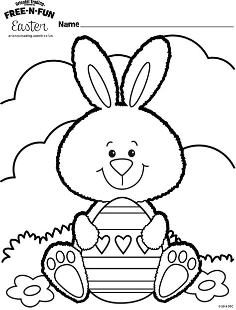 easter bunny coloring sheets free easter coloring pages happiness is