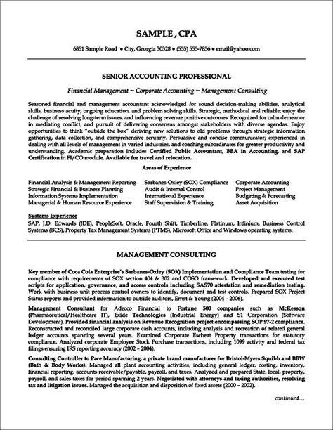 sle curriculum vitae for accountant free sles exles format resume curruculum