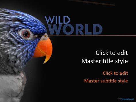 Free animal powerpoint templates