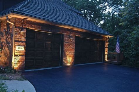 Garage Outdoor Lights Garage Lighting Outdoor Accents Lighting Garage Door Lights Pinterest Garage Lighting