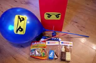 lego ninjago party bags an organised mess