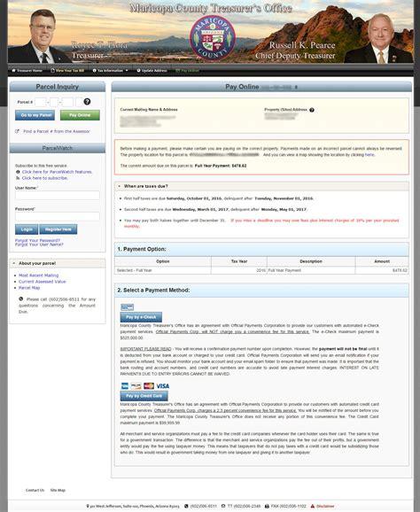Maricopa County Az Property Tax Records Taxes Maricopa County Assessor S Office