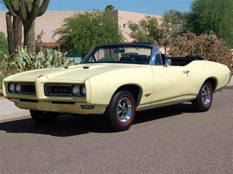 Pontiac Gto Sale by 1968 Pontiac Gto For Sale Classiccars Cc 898278