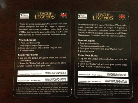 Skin Code Giveaway - giveaway 6x pax prime skin codes leagueofgiving
