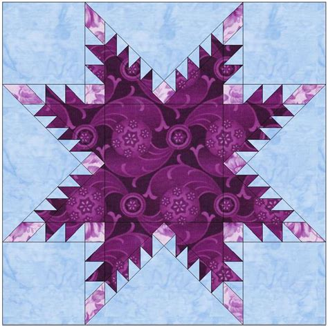 feathered template block by humburgcreation craftsy