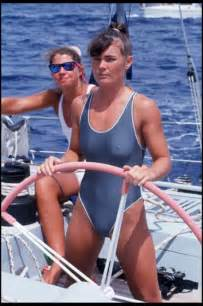 Tracy edwards and maiden arrive in fort lauderdale during the race