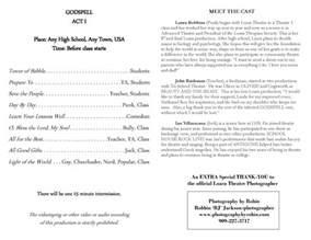 awards ceremony program template high school graduation ceremony program template