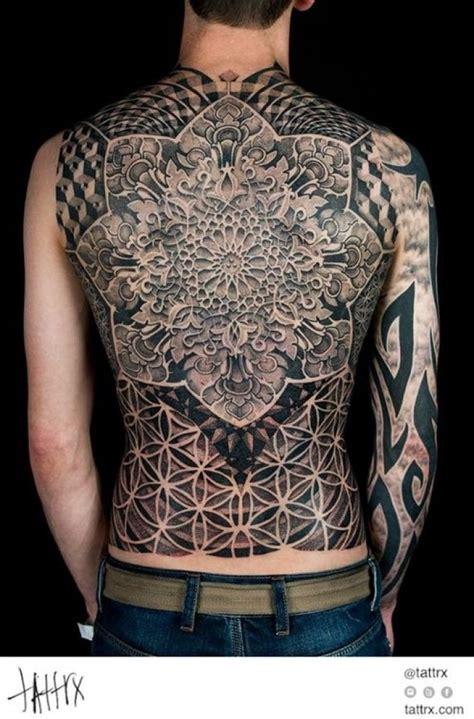 geometric back tattoos geometric tattoos sacred geometry and geometry on