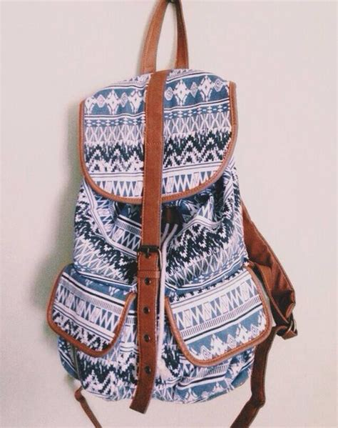 Backpack Tribal Blur bag backpack tribal backpack tribal pattern