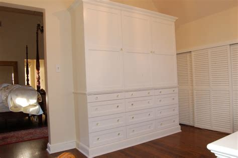 custom bedroom armoire and drawer unit armoires and