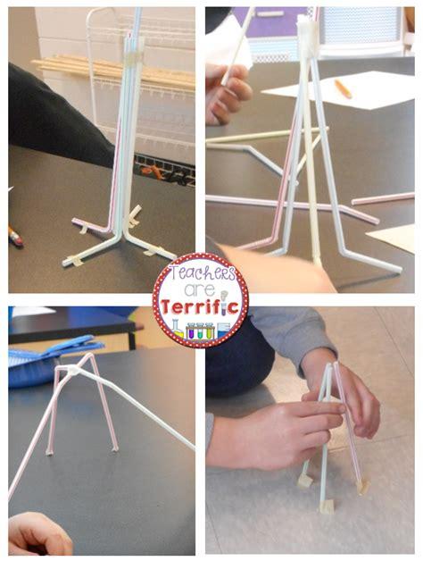straw tower challenge stem activity challenge 12 straws towers stem
