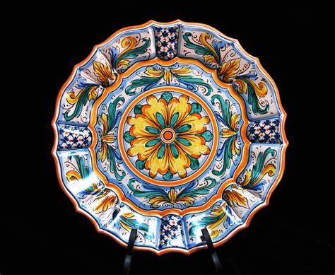 ladari in ceramica di caltagirone bellissimo piatto in ceramica di caltagirone piatto