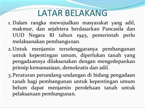 Buku Implementasi Prinsip Kepentingan Umum Dalam Pengadaan Tanah Untu kebijakan umum pengadaan tanah di indonesia