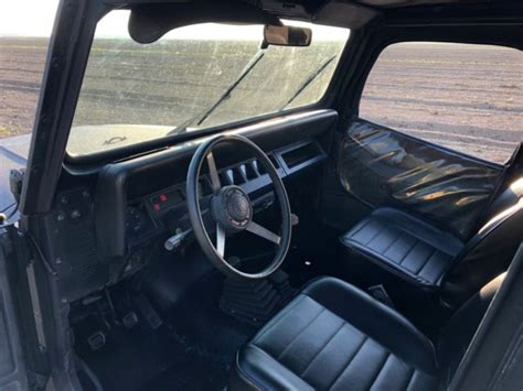manual cars for sale 1994 jeep wrangler interior lighting 1994 jeep wrangler yj 4x4 manual classic jeep wrangler 1994 for sale