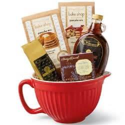 breakfast gift basket breakfast batter bowl waffles pancakes gift baskets