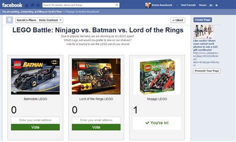 design contest on facebook kids products how to market on facebook