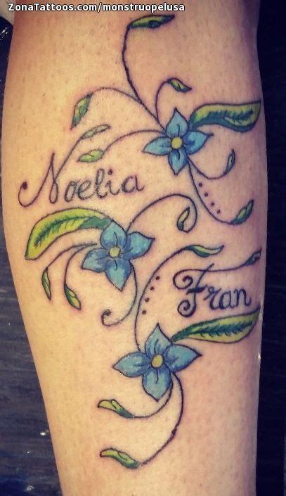imagenes tatuajes q digan gustavo tatuaje de flores hojas nombres
