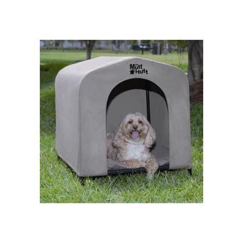 mutt hutt dog house mutt hutt portable dog kennel medium reviews temple webster