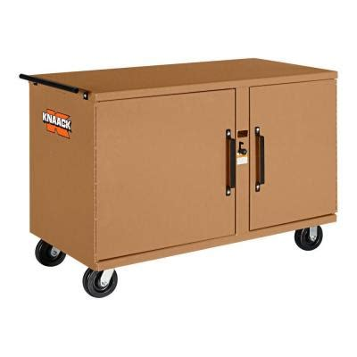 the rolling bench husky 52 in 10 drawer mobile workbench with adjustable
