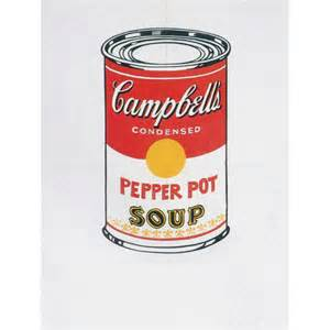 Wall Mural Painters andy warhol campbell s soup can tomato