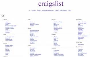 Craigslist Org Craigslist 3 Reviews Of Craigslist Org Complaints List