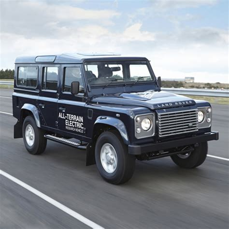 land rover electric land rover electric defender research vehicle acquire