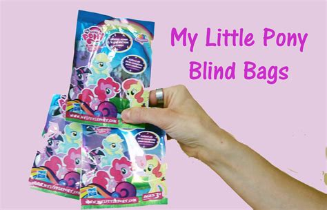 My Blind my pony blind bags mlp mystery bags