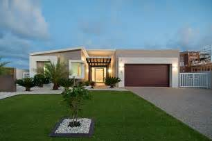Modern Single Story House Plans awesome one story lake house plans #4: modern-single-storey-house