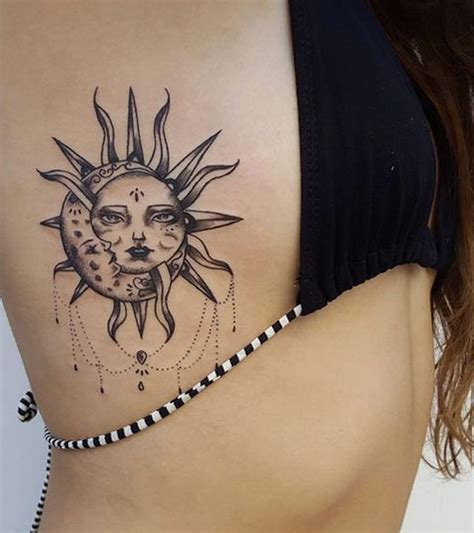 cool rib tattoos 30 feminine rib ideas for that are