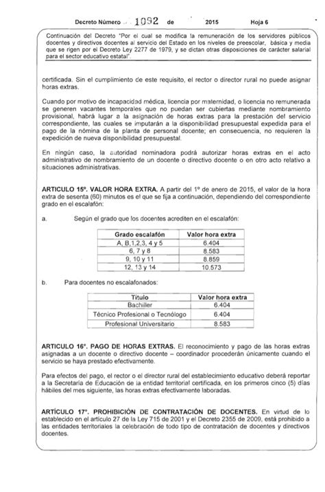 decreto tabla salarial 1278 2015 colombia decreto salario docentes 1278 2015 decreto salarial 1278